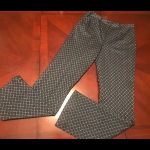 ETCETERA navy / lt blue pant  trousers - like new